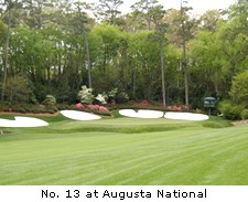 No. 13 at Augusta National