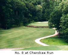 No. 8 at  Cherokee Run