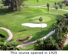 This Course Opened in 1925