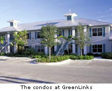The condos at GreenLinks