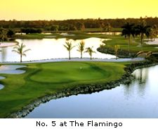 No. 5 at the Flamingo