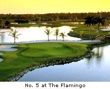 No. 5 at the Flamingo