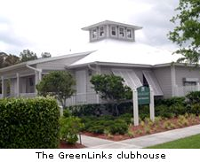 The GreenLinks clubhouse