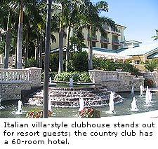 Italian villa-style clubhouse