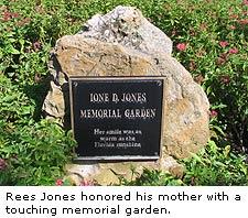 Jones' Memorial Garden