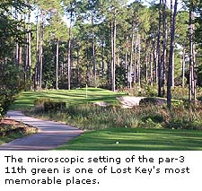 No.11 at Lost Key Golf Club