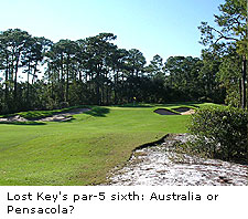 No.6 at Lost Key Golf Club